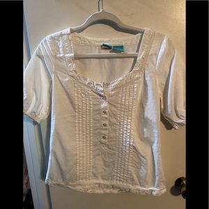 White peasant style top